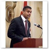 Consul General Dr. Anil Ramnanan, Consulate General of Trinidad & Tobago
